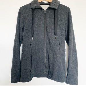 Lululemon Full zip up Grey Jacket 6